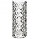 diamond vase d12 h30, transparent