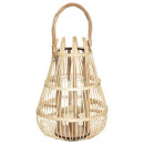 lantern basket high h37.5, beige