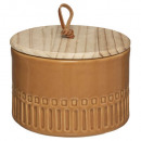 safari ceramic box, 2- times assorted , colors a