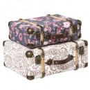 Großhandel Taschen & Reiseartikel: Zigeunerkoffer x2, mehrfarbig