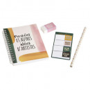 arty stationery set, 2- times assorted , multicolo