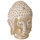 gold buddha head h34, gold