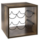 wholesale Food & Beverage: industrial mix wine rack, colorless