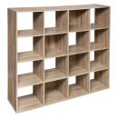 16-box shelf mix nat