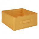 caja de almacenamiento 31x15 terciopelo amarillo,
