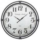 horloge metal tuyaux d74 igor, noir