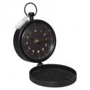 table clock d12 gypsy, black