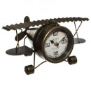reloj de avión de metal, negro