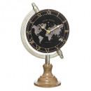 reloj de mesa h34 flor, negro