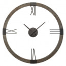 clock metal / mdf d58, black