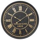 Reloj 3d mdf d77 aedan, negro