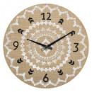 horloge lin d38, beige