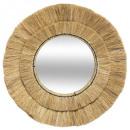spiegel van raffia d57 safari, beige