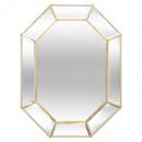espejo met45x34 gypsy, dorado