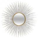 napfém tükör d75, arany