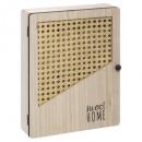 caja de llaves arty, beige