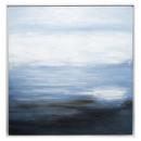 lienzo pei / cad abstracto 78x78, azul