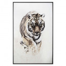 wholesale Headgear: printed canvas / cad tiger 78x118, multicolour