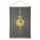 canvas hanging fl 54x78 gypsy, 2- times assorted ,