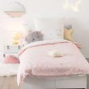 set de gato 140 x 200, rosa