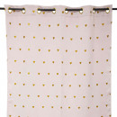 wholesale Curtains & Drapery: blackout curtain with glitter hearts, pink