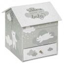 wholesale Gifts & Stationery:bear musical box, gray