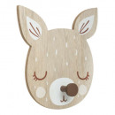 doe coat hook, medium beige