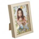 frame with sequins, 2- times assorted , beige