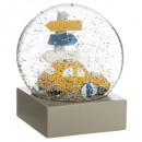 wholesale Snow Globes: snow globe car 100mm, multicolored