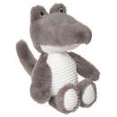 Großhandel Spielwaren:Krokodilplüsch, grau