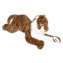 plüss tigris xl, sokszínű
