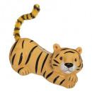 tijger spaarpot, veelkleurig