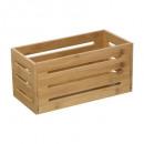 cestino portaoggetti 15x31 bambù pieno full