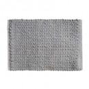dik effen tapijt 50x75 grijs, grijs