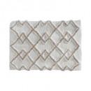 wholesale Bath & Towelling: carpet coton ethniq 50x75 taupe