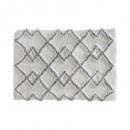 carpet coton ethniq 50x75 gray