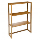 etagere 3 niveaux bambou modula