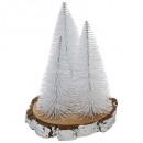 groothandel Woondecoratie: kunstboom tafel x3 s / log h20cm