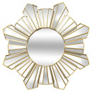 gouden barok spiegel d70cm