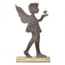 nagyker Szobrok és figurák:gm fém fa angyal h50cm