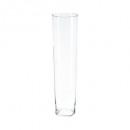 transparent conical vase h70, transparent