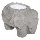 citr elephant scented candle 180g, gray