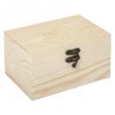caja de aroma de madera, beige