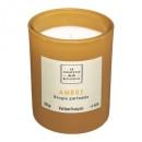 210 g amber belli glazen geurkaars, amber