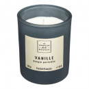 bougie parfumées verre belli vanil 210g, noir