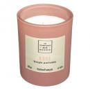 scented candle glass belli rose 210g, rose