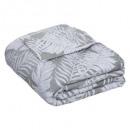 sobre la cama jacq feuil 260x240, gris oscuro
