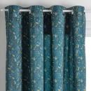 cortina terciopelo sierra puede 140x260, pato azul