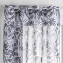 vitrage fred cuba nr 140x240, zwart & wit