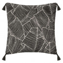 Pillow chen rv sheet no 40x40, black & white